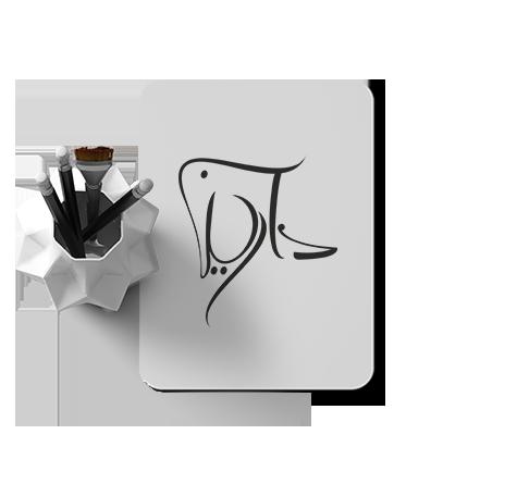 طراحی لوگو زیورآلات دست ساز دارینا