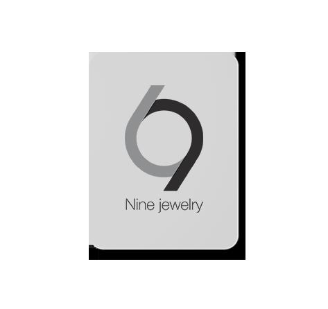 طراحی لوگوی جواهرات دست ساز استودیو 9
