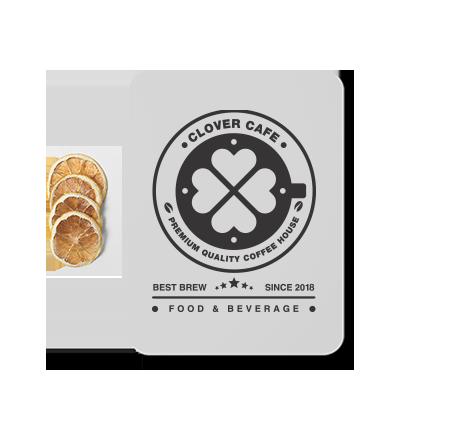 طراحی مجدد لوگوی کافه کلاور