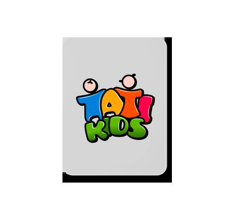 tati kids logo design