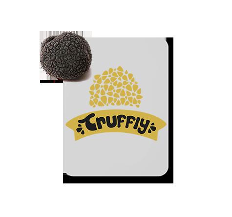 truffly logo design
